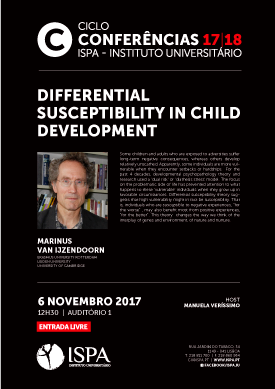 Differential susceptibility in child development