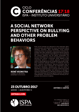 A social network perspective on bullying and other problem behaviors