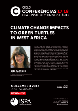 Climate change impacts to green turtles in West Africa