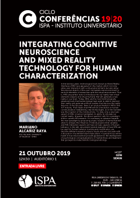 Integrating cognitive neuroscience and mixed reality technology for human characterization