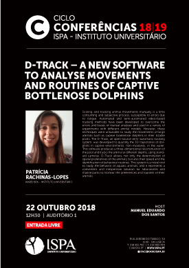 D-Track – A new software to analyse movements and routines of captive bottlenose dolphins